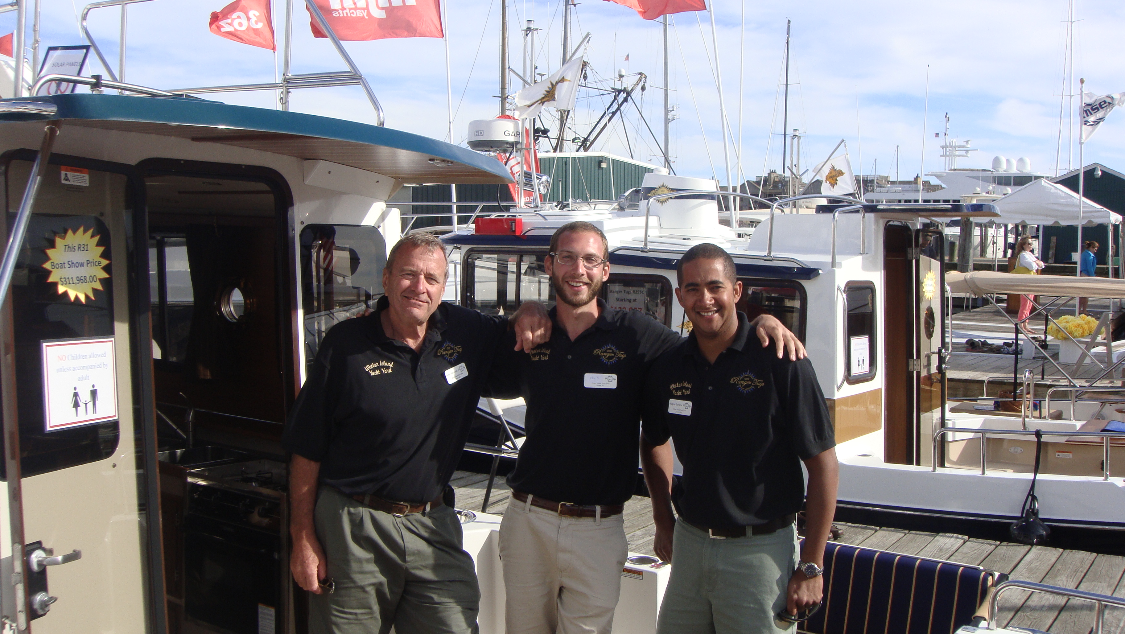 Crew at Winter Island Yacht Yard