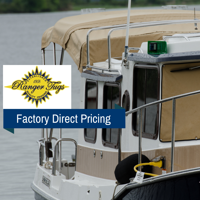 Ranger Tugs Factory Direct Pricing