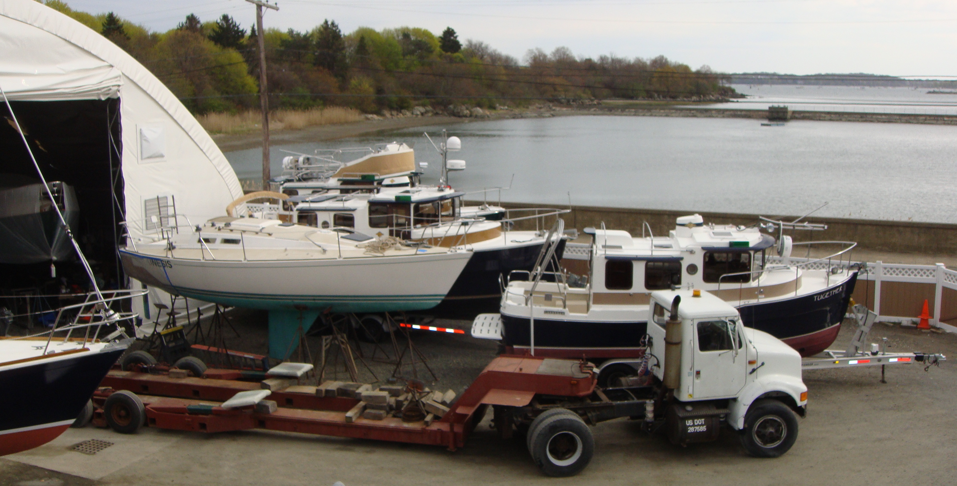Winter Island Yacht Yard, a Full-Service Boat Yard