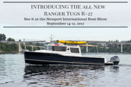 2018 Ranger Tug R27 with Outboard for Sale